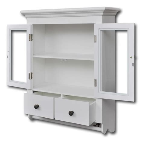 glass kitchen wall cabinets white wooden kitchen wall cabinet with glass door vidaxl com