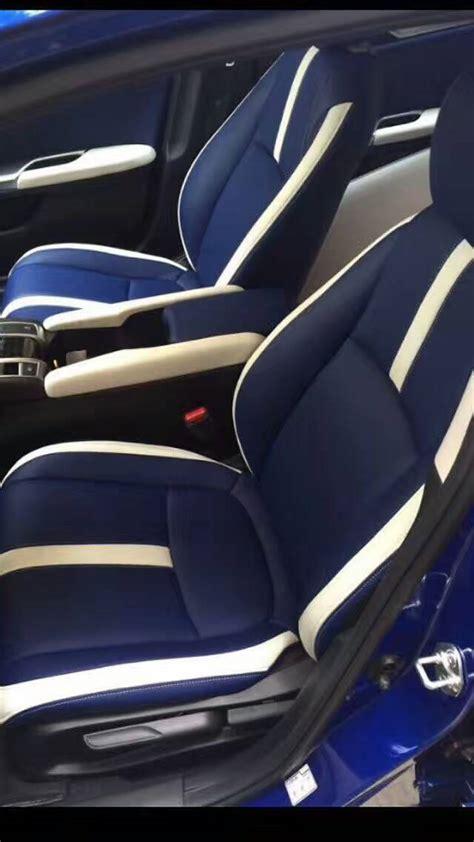 katskinz custom leather seats  hatch  honda civic