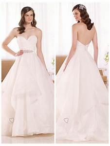 strapless ruched sweetheart wedding dress with layered With layered skirt wedding dress