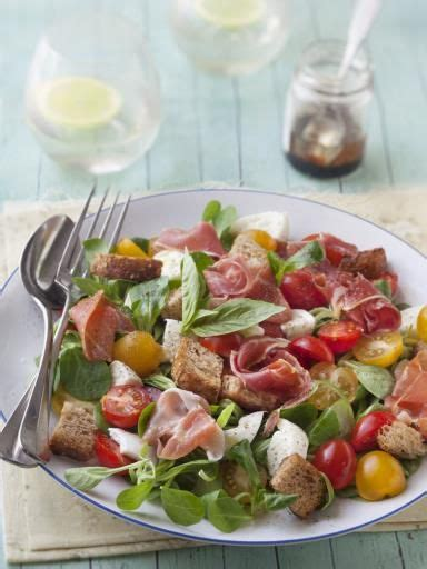 cuisine bayonne salade mâche jambon de bayonne mozzarella recette