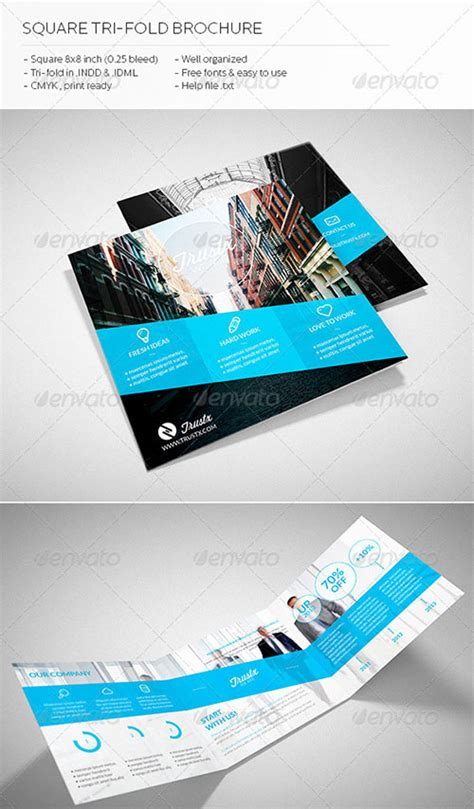 awesome indesign brochure templates