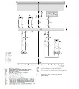 Audi Wiring Diagram 1999 by Autosleek Quot 1999 Audi A6 The Storage Battery Change Wire Quot