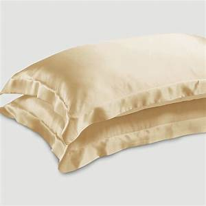 Cream Oxford Si... Silk Pillowcases