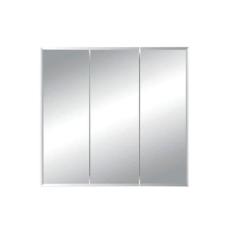 tri cabinets bathroom medicine cabinet storage frameless tri view