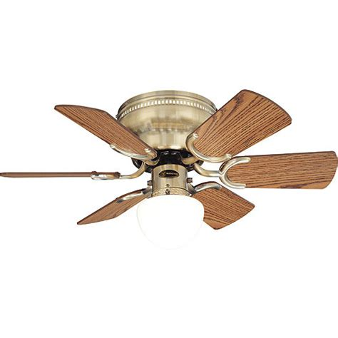 westinghouse ceiling fan and light antique brass