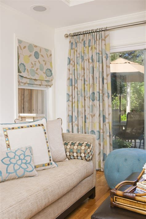 sliding door curtains home office traditional with area