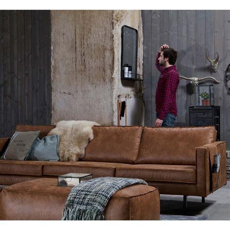 canapé 4 5 places canapé 3 5 places en cuir bronco par drawer fr