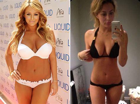 dennis lloyd bikini aubrey o day shows off slim figure in new bikini pic