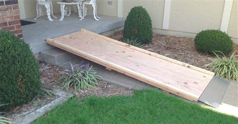 build  wheelchair ramp  stairs google search ramp plans pinterest wheelchair
