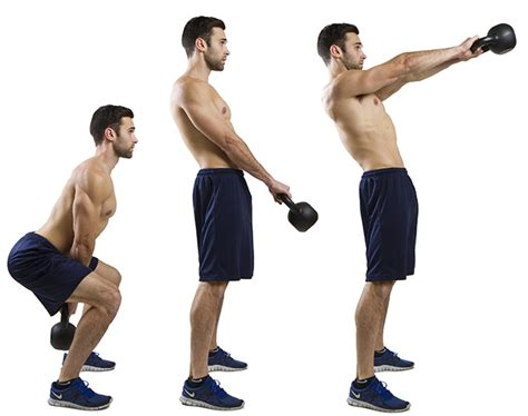kettlebell swings exercise hiit lunges swing kettle bell exercises kettlebells weight gymguider raise fitness gym jump workouts training fat ripped