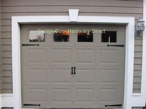 garage door accents decorative carriage house garage door hardware direct kits