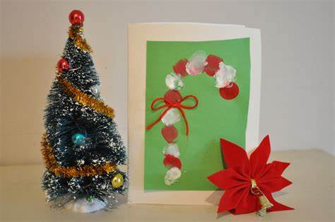 Christmas craft ideas for kid. Homemade Christmas Card Ideas to do with Kids
