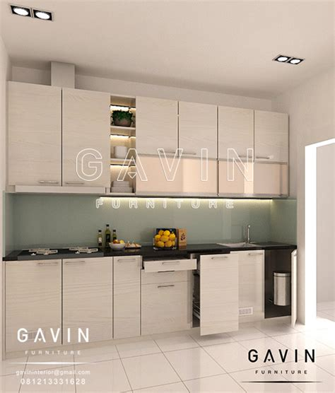 design kitchen set minimalis proses pembuatan kitchen set minimalis modern di kembangan 6577
