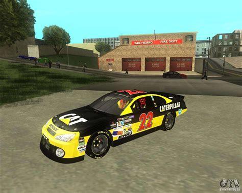 Dodge Nascar Caterpillar For Gta San Andreas