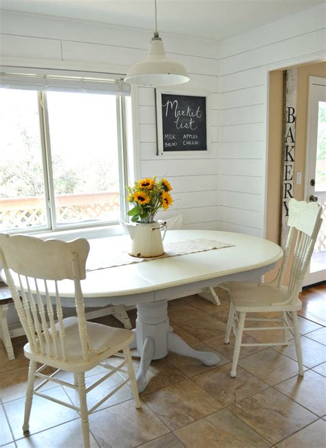 chalk paint dining table makeover  vintage nest