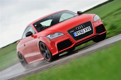 audi tt rs  review price specs    time evo