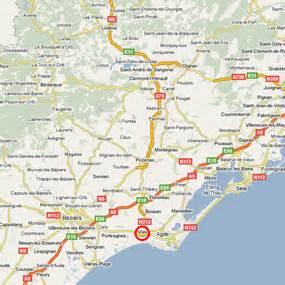 Vias Plage Carte by Lou Castelet Accomodaties In Het Zuiden Van Frankrijk