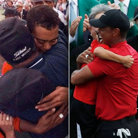 Tiger Woods caddies for his 11-year-old son, Charlie, at U ...