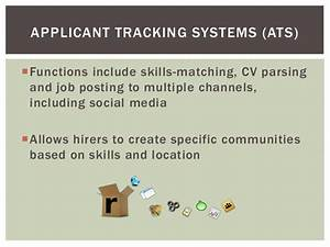 What kind of tools does human resources use for Doe applicant tracking system