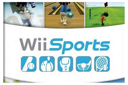 baixar esportes wii no wii console