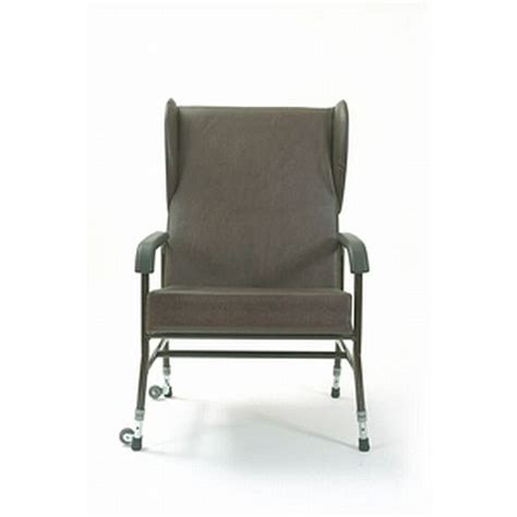 high backed upholstered bariatric chair winged sports