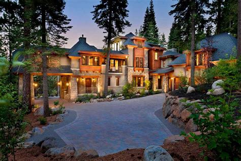 dream house california mountain mansion