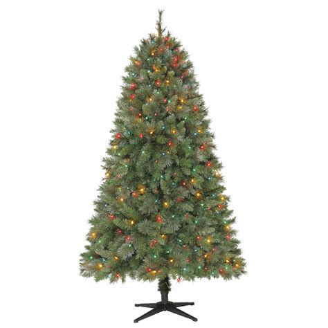 mixing white and colored lights on tree multi colored pre lit christmas tree deck the halls with