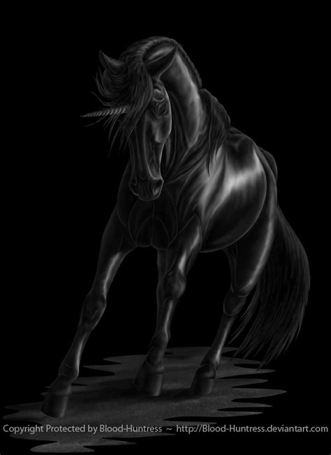 Black Lock Screen Unicorn Wallpaper by The Black Unicorn 2012 07 By Blood Huntress On Deviantart
