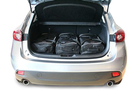 mazda products mazda3 mazda3 bm 2013 present 5d car bags travel bags
