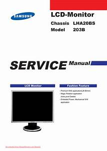 Samsung Syncmaster 203b User Guide Manual Pdf