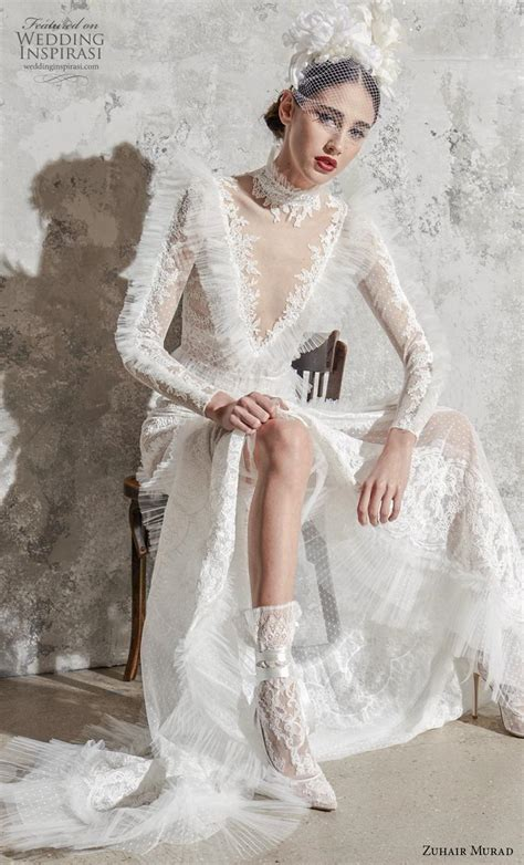 zuhair murad spring  wedding dresses wedding inspirasi