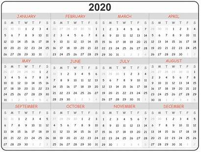Calendar Printable Calender Yearly Notes Blank Template
