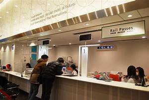 The Jr East Travel Service Center At Tokyo Station Makes