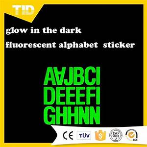 Glow in the dark reflective letter stickers buy for Glow in the dark letters stickers