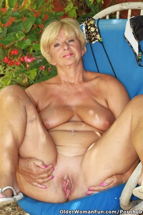 66 year old and British granny Samantha spreads... - PCGuy23