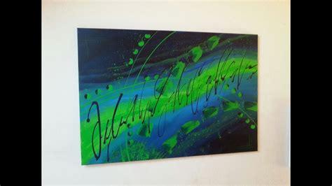 malen mit acrylfarben fuer anfaenger abstrakt easy