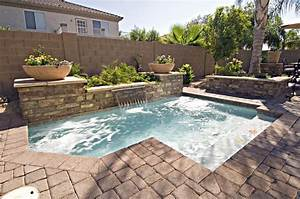 Inground pool for small backyard backyard design ideas for Inground swimming pool designs ideas