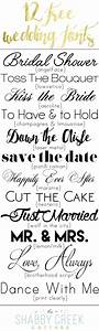 Wedding Fonts (12 free fonts for personal use)