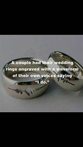 152 best pix of sound waves images on pinterest sound With sound wave wedding ring