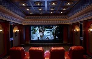 Cinema A La Maison : domotech design galerie photo de cin ma maison et installation ~ Louise-bijoux.com Idées de Décoration