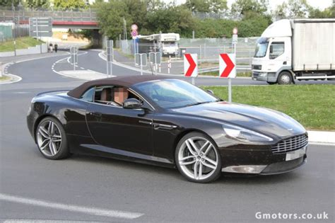 New Aston Martin Db9 Coupe & Volante Spied Undisguised