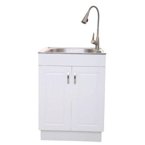 all in one utility sink glacier bay presenza all in one 25 98 in x 22 83 in x 31