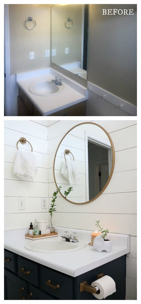 Bathroom Makeover Before And After by 20 Bathroom Makeovers Before And Afters Nesting With Grace
