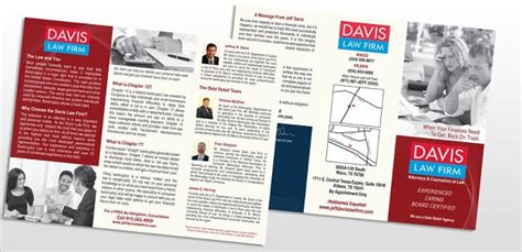 law firm brochures templates ai psd pages