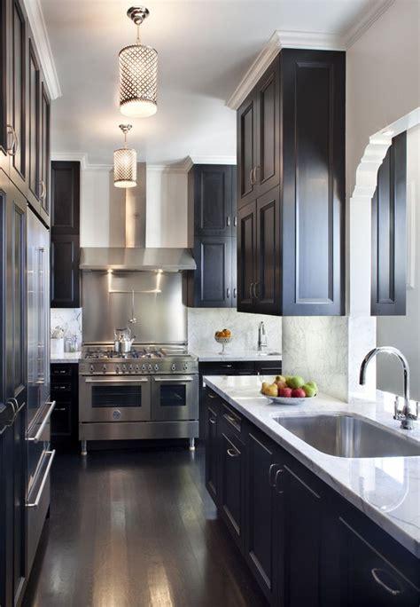 black kitchen cabinets dark floors  homeaccessgrantcom