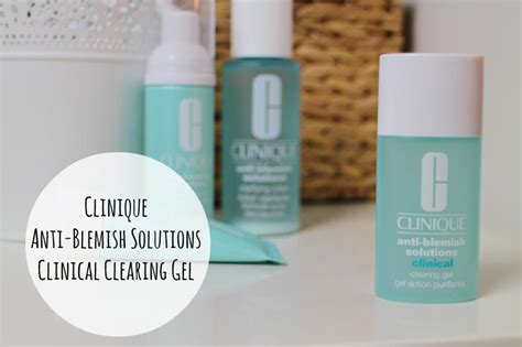 Clinique Anti Blemish Solution Gel clinique anti blemish clearing gel a junkie in