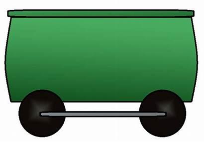 Train Clipart Cars Clip Carriages Trains Wagon