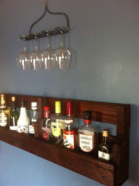 Bar Wall Shelves by Rake Wine Glass Rack Holder Plus Simple Wall Bar