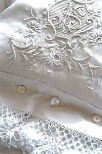 beautiful embroidered linen with buttons quilts from With beautiful sheets and pillowcases