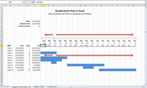 build  gantt chart  excel critical  success